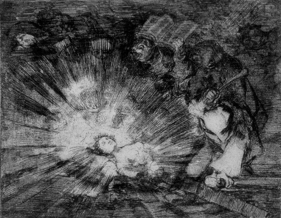 Etching And Aquatint Goya - Si resuscitarà