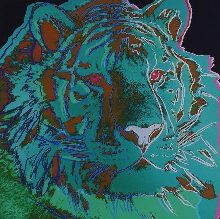 Screenprint Warhol - Siberian Tiger