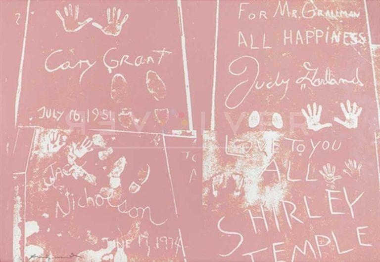 Screenprint Warhol - Sidewalk (FS II.304)