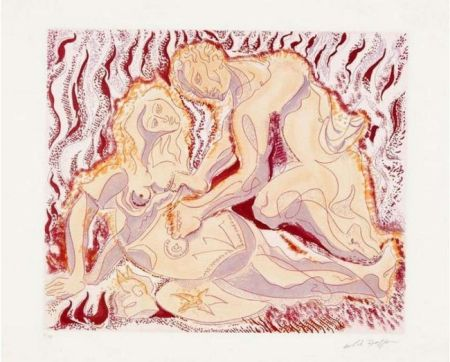 Etching And Aquatint Masson - Siegfried und brunhilde