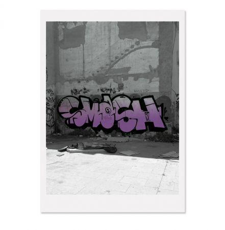 Screenprint Falkner - Siesta violett