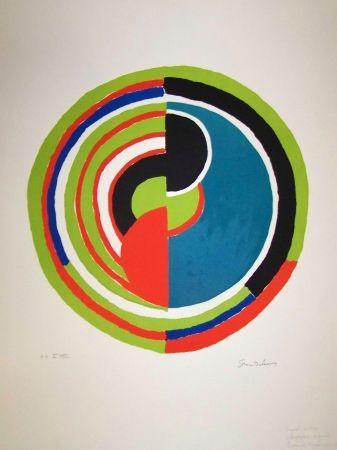 Lithograph Delaunay - Signal