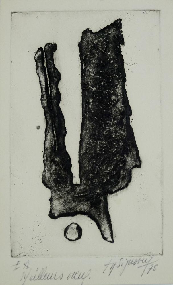 Engraving Signovert - Signe