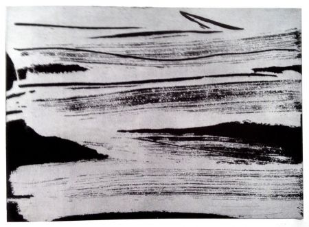 Etching And Aquatint Debré - Signe-paysage IV