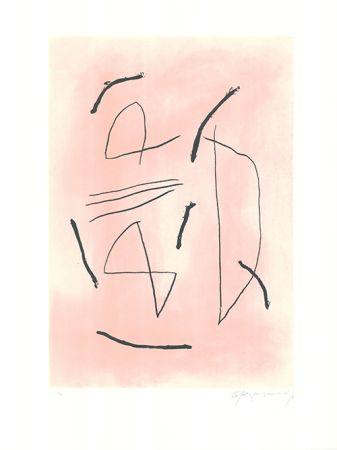Etching And Aquatint Ràfols Casamada - Signe i color 4