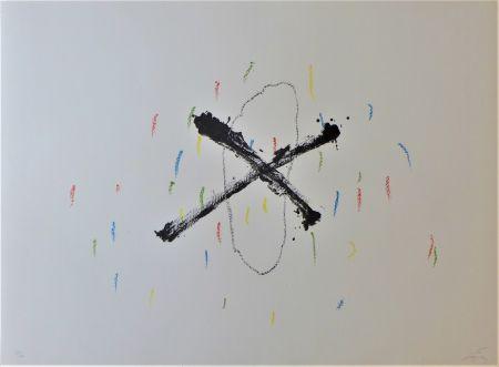 Lithograph Tàpies - Silenci