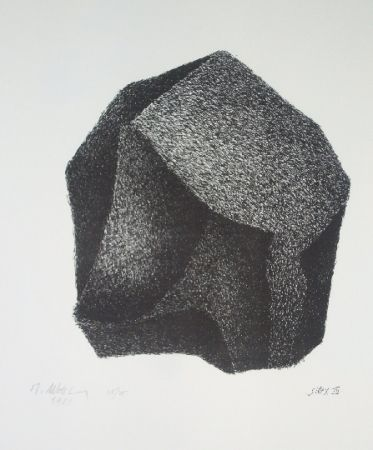 Lithograph Ubac - Silex