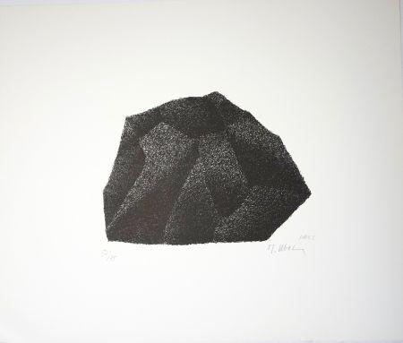 Lithograph Ubac - Silex I