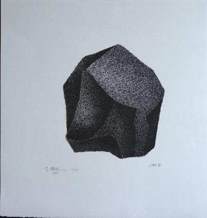 Lithograph Ubac - Silex III