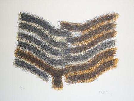 Lithograph Ubac - Sillon