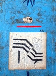Carborundum Coignard - Sillon bleu