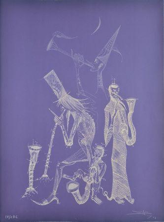 Engraving Ponç - Simfonia violeta