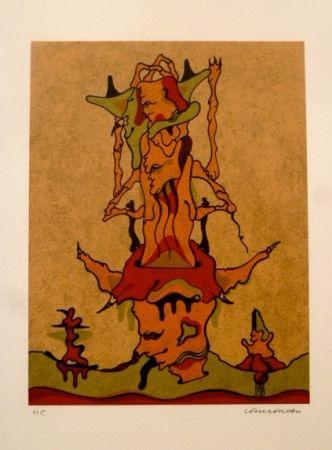 Lithograph Camacho  - Sin Título