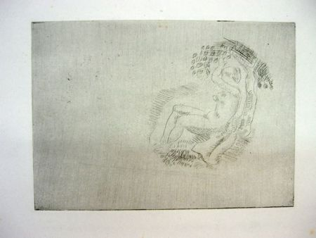 Engraving Maillol - Sin Título