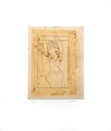 Engraving Valdés - Sin Título