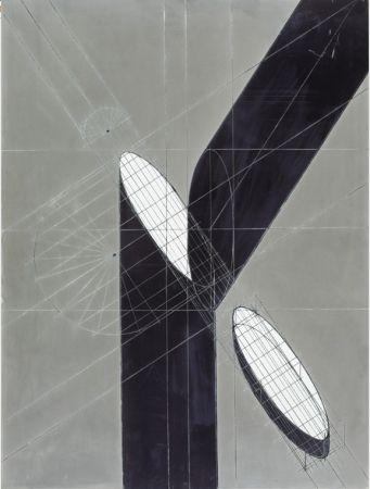 Lithograph Pomodoro - Sin titulo