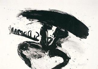 Lithograph Kounellis - Sin titulo