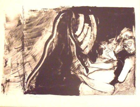 Lithograph Toledo - Sin titulo