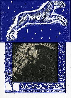 Lithograph Paladino - Sipario