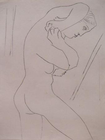 Lithograph Picasso - Six Contes Fantasques – L'Aiguille des Secondes