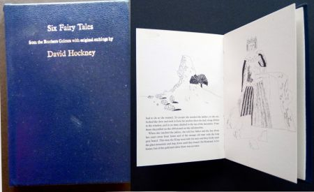 Illustrated Book Hockney - Six Fairy Tales