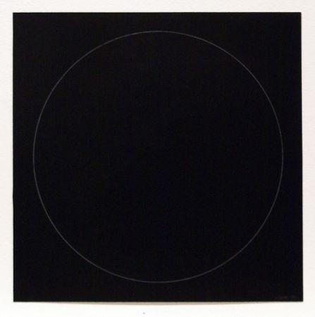 Etching And Aquatint Lewitt - Six Geometric Figures - Circle