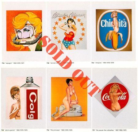 Collograph Ramos - Six girls portfolio