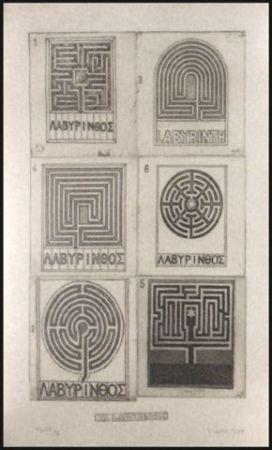 Etching Tilson - Six Labyrinths