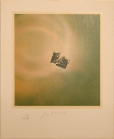 Lithograph Goode - Six Lithographs (torn photo on green background)