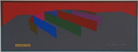 Screenprint Davis - Six Prong Color