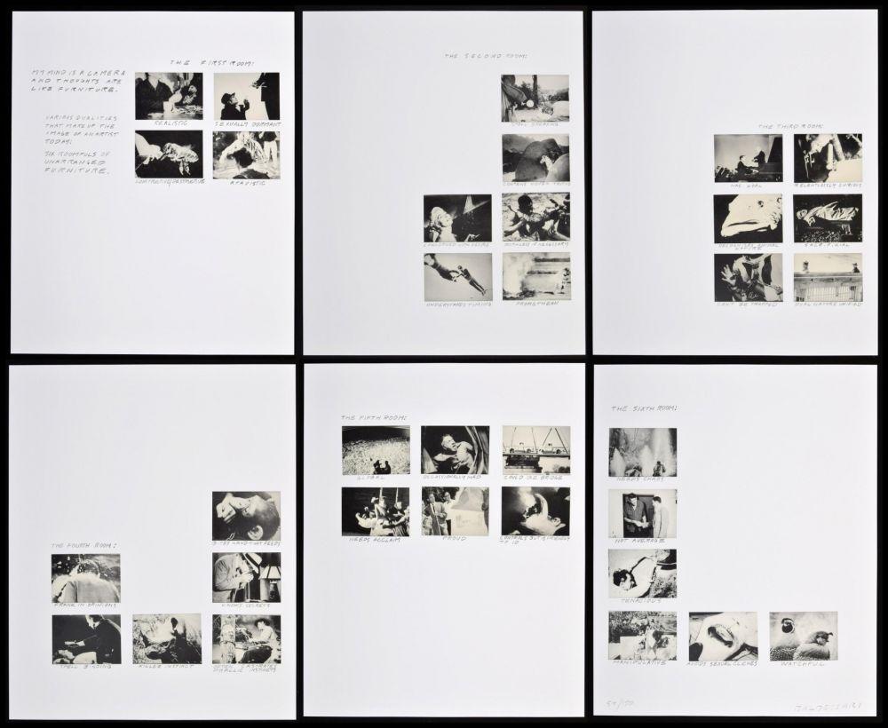 Lithograph Baldessari - Six Rooms