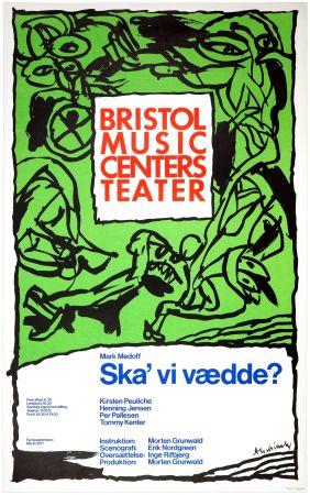 Poster Alechinsky - Ska'vi vædde ?, Mark Medoff, 1977
