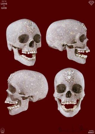 Poster Hirst - Skull