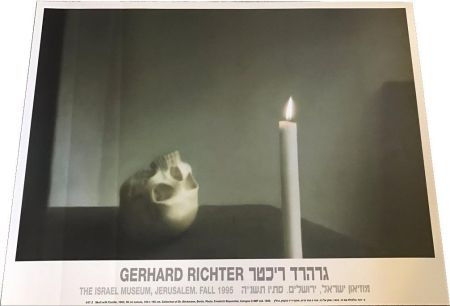 Poster Richter - Skull with Candle