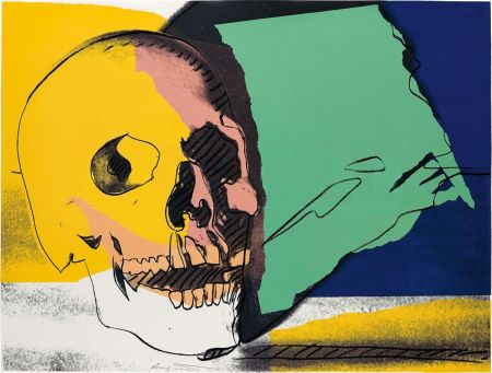 Screenprint Warhol - Skulls (FS II.158)
