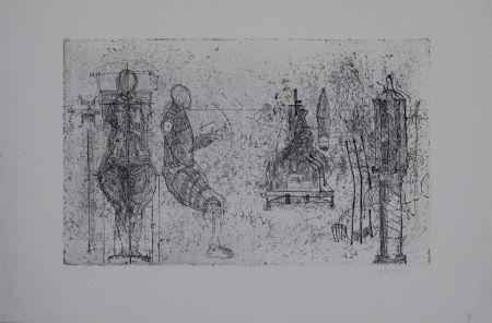 Etching Augustin - Skulpturen / Sculptures