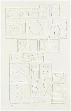 Relief Nevelson - Sky Gate I (1982)