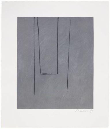 Etching And Aquatint Motherwell - Slate Gray Pintura