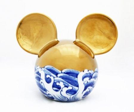 Ceramic Lihong - Small Mickey – gold