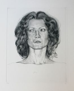 Etching Rodriguez - Small White 2