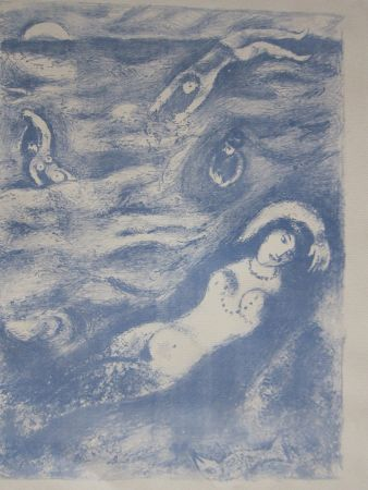 Lithograph Chagall - So i came forth....