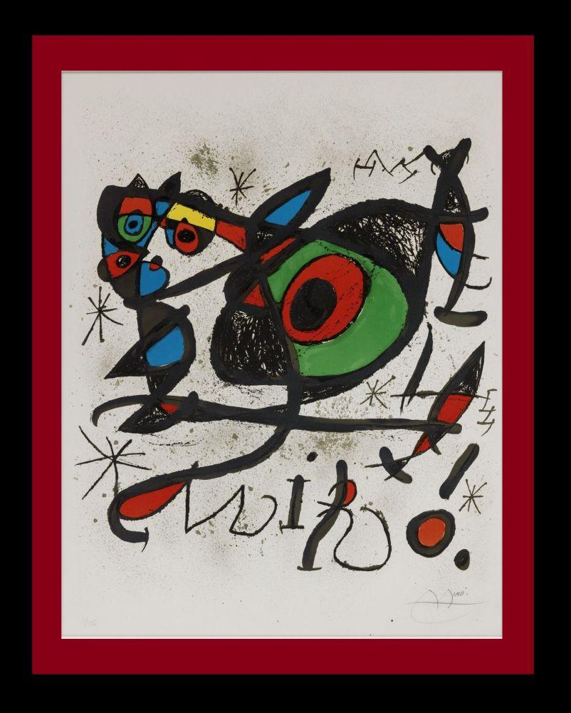 Lithograph Miró - Sobreteixims