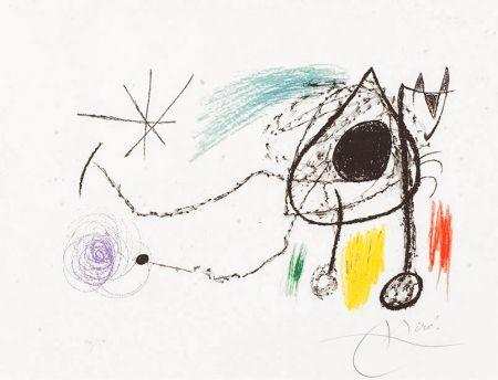 Lithograph Miró - Sobreteixims i escultures (Textiles and Sculptures), 1972