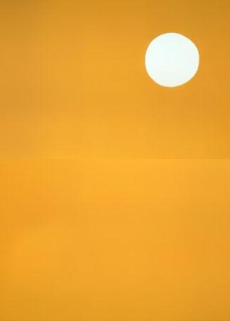 Lithograph Ballester Moreno - Sol