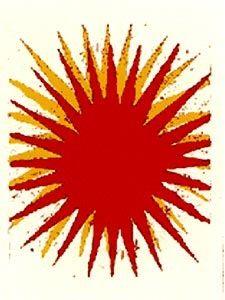 Lithograph Carr - Soleil