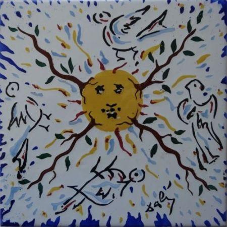 Ceramic Dali - Soleil radieux