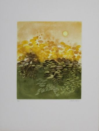 Etching And Aquatint Walker - Soleil / Sun