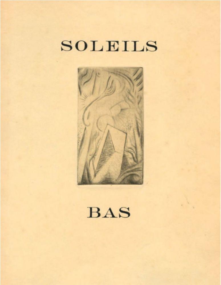 Illustrated Book Masson - SOLEILS BAS. Le premier livre illustré par André Masson (1924).