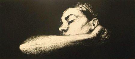 Lithograph Joliet - Sommeil noir
