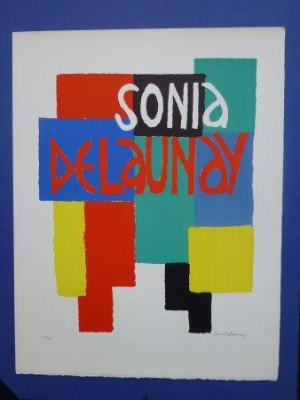 Lithograph Delaunay - Sonia Delaunay